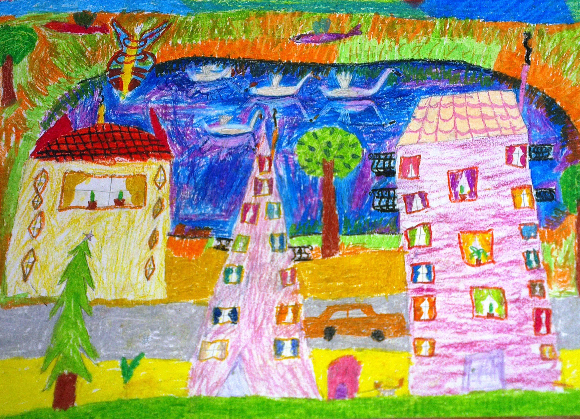 Москва япония 46 конкурс детского рисунка